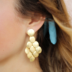 Marshall Earrings | Gold - Coco and Duckie