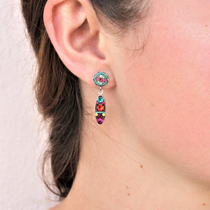 Patti | Multicolored Earrings by Firefly - Coco and Duckie
