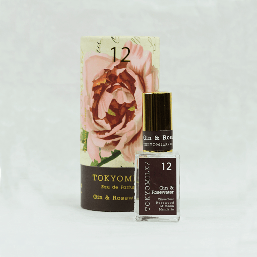 Gin and Rosewater No.12 | Parfum - TokyoMilk - Coco and Duckie