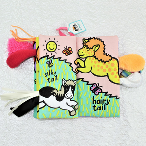 Pony Tails Soft Book - Coco and Duckie