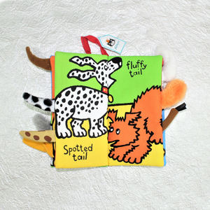 Puppy Tails Soft Book - Coco and Duckie