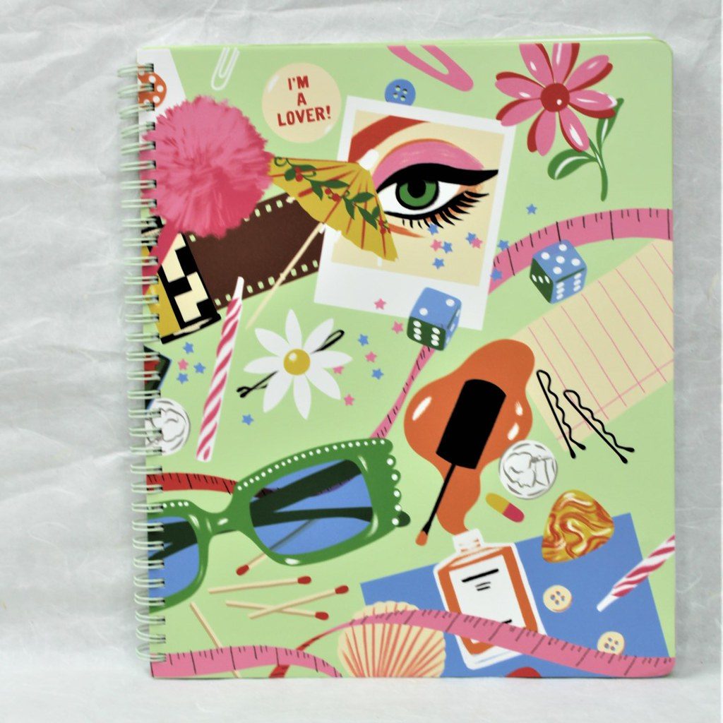Rough Draft Large Notebook - Coco and Duckie