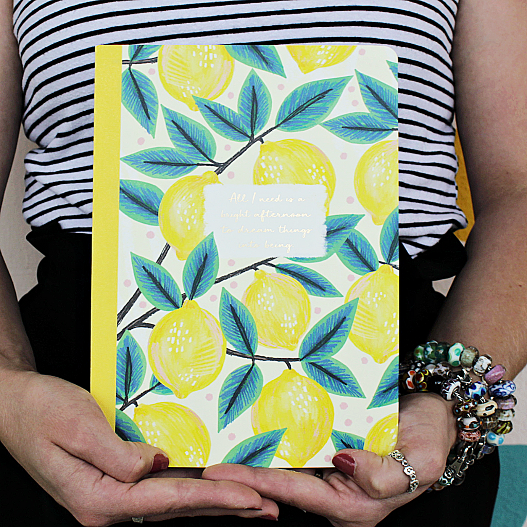 Lemons Notebook - Compendium - Coco and Duckie