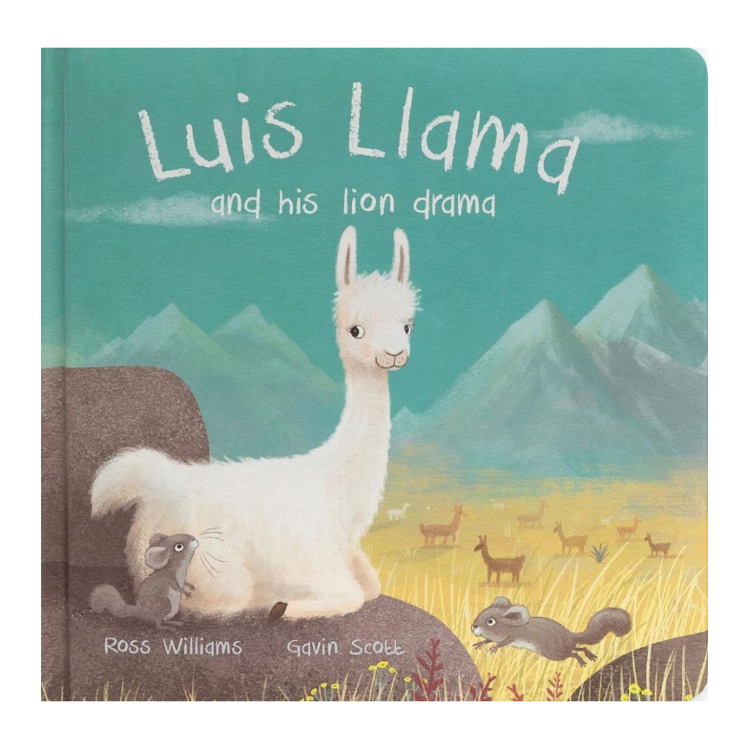 Book | Luis Llama And His Lion Drama