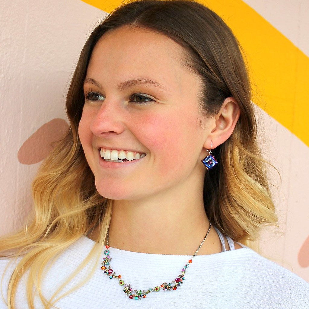 Venia Necklace | Multicolored - Coco and Duckie