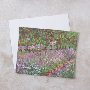 Monet Thank You Card Set - Teneues Publishing - Coco and Duckie