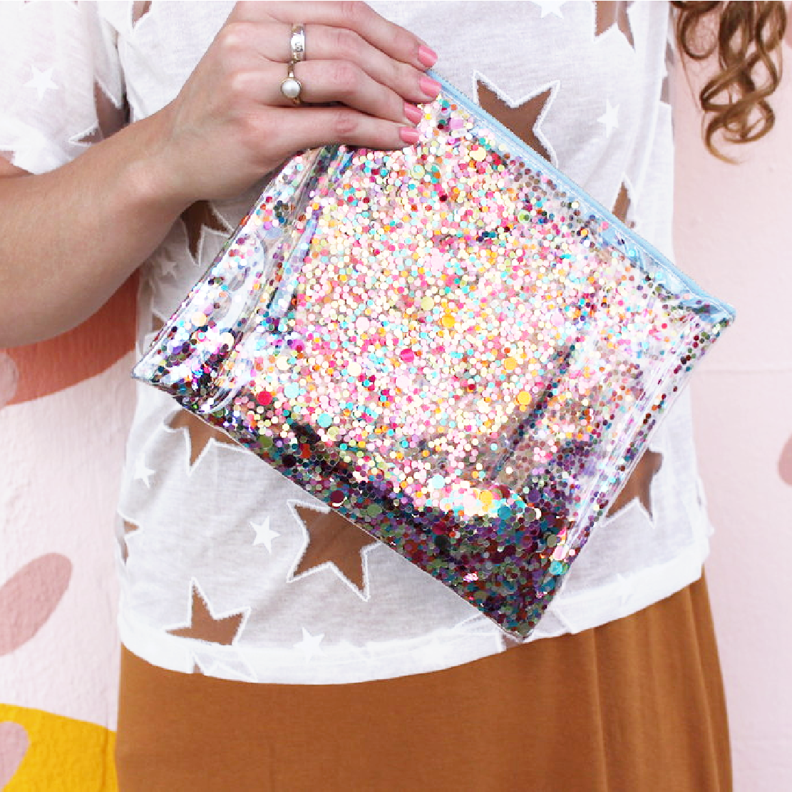 Confetti Everything Pouch