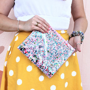Confetti Everything Pouch - Coco and Duckie