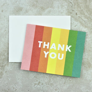 Color Block Thank You Notes - Paper Source - Coco and Duckie