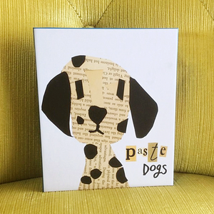Paste Dogs Boxed Cards - Teneues Publishing - Coco and Duckie