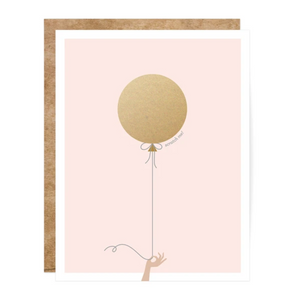 Scratch-Off Card | Pink Balloon - Coco and Duckie