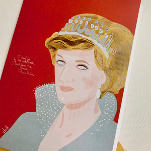 Illustration Card | Princess Diana - Coco and Duckie