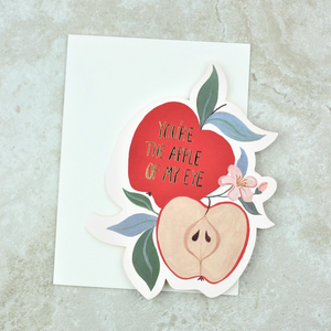 Apple of My Eye Card Set - Red Cap Cards - Coco and Duckie