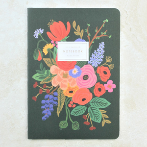 Green Garden Party Notebook - Rifle Paper Co - Coco and Duckie