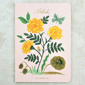 Marigold Botanical Notebook - Rifle Paper Co - Coco and Duckie