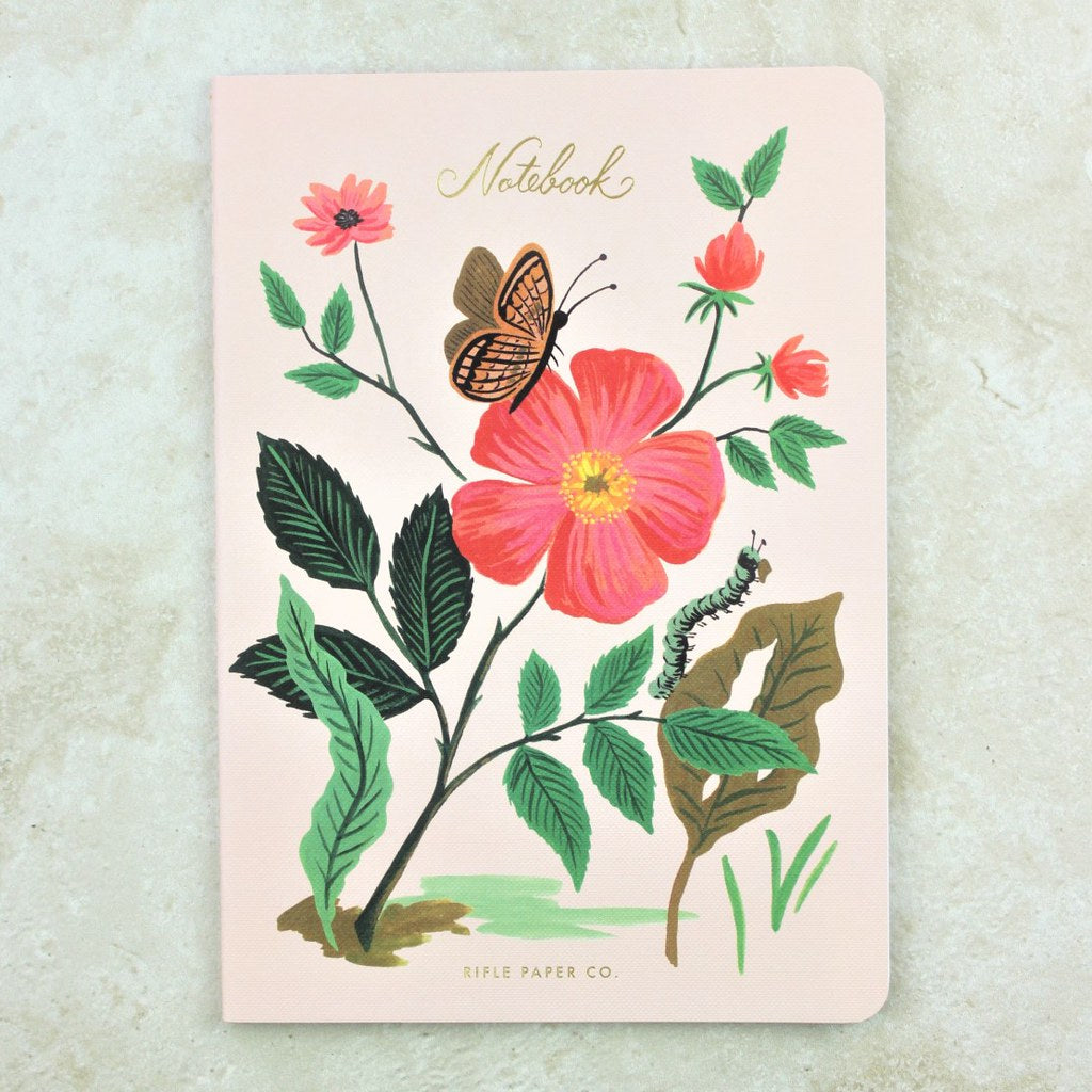 Rose Botanical Notebook - Rifle Paper Co - Coco and Duckie