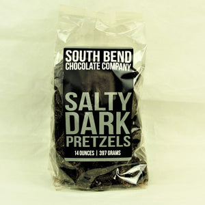 Salty Dark Pretzels - Coco and Duckie