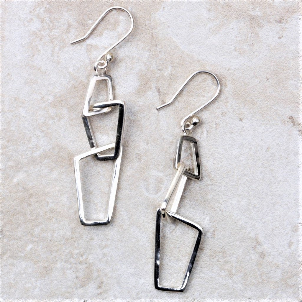 Livina | Sterling Silver Earrings - Coco and Duckie