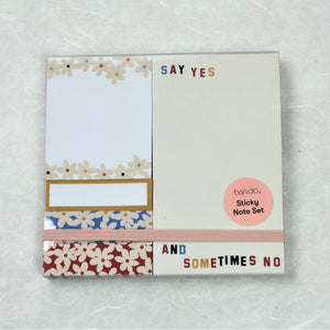 Sticky Note Set | Daisies