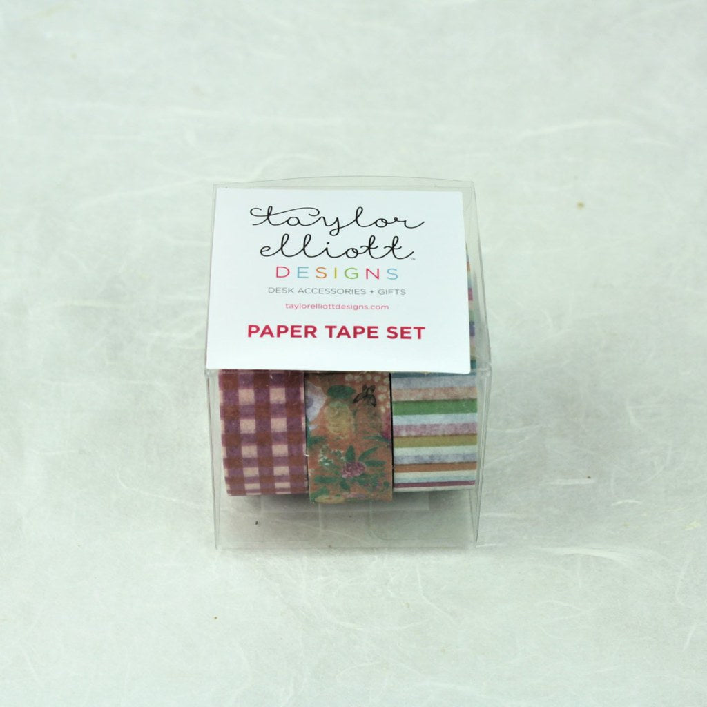 Cheery Paper Tape Set - Coco and Duckie