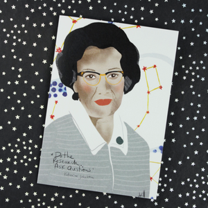 Illustration Card | Katherine Johnson - Coco and Duckie