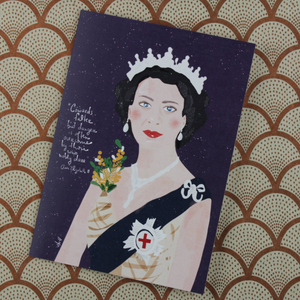 Illustration Card | Queen Elizabeth II - Coco and Duckie