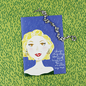 Illustration Card | Marilyn Monroe - Coco and Duckie