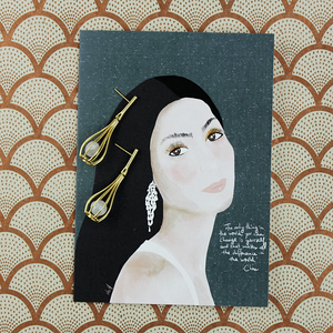 Illustration Card | Cher - Coco and Duckie