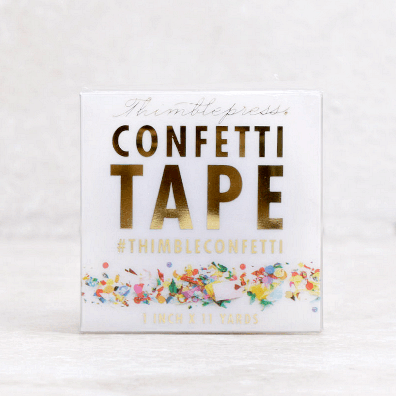 Confetti Tape - Thimblepress - Coco and Duckie