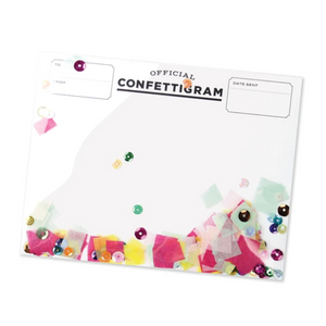 Confetti Card | Sprinkles - Coco and Duckie