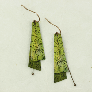 de illustrated light ina earrings - coco and duckie