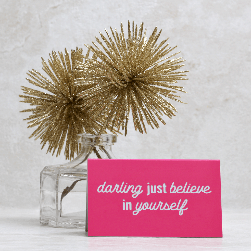 Darling Desk Sign - Taylor Elliott Designs - Coco and Duckie