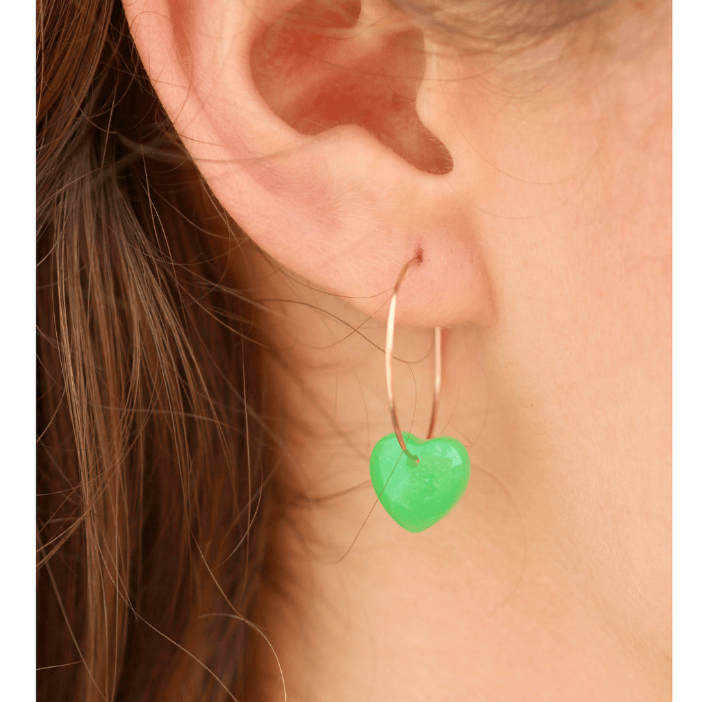 Venus Hoop Earrings | All Systems Glow - Coco's Musings - Coco and Duckie