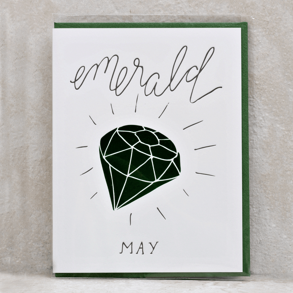 Birthday Month Gemstone Cards - Wild Ink Press - Coco and Duckie