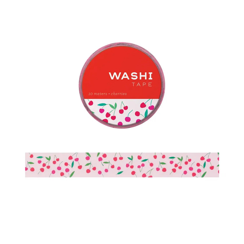 Cherries Washi Tape - Girl of All Work - Coco and Duckie
