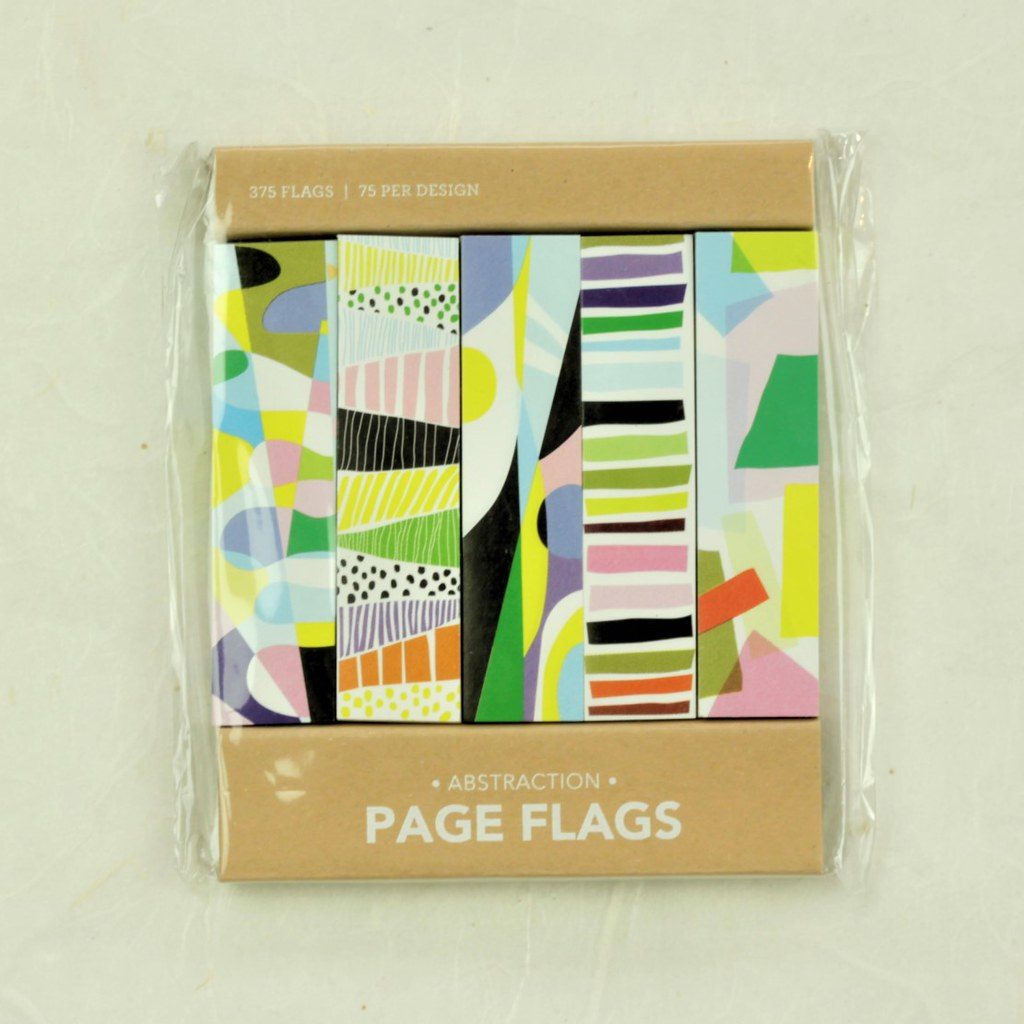 Abstraction Page Flags - Girl of All Work - Coco and Duckie
