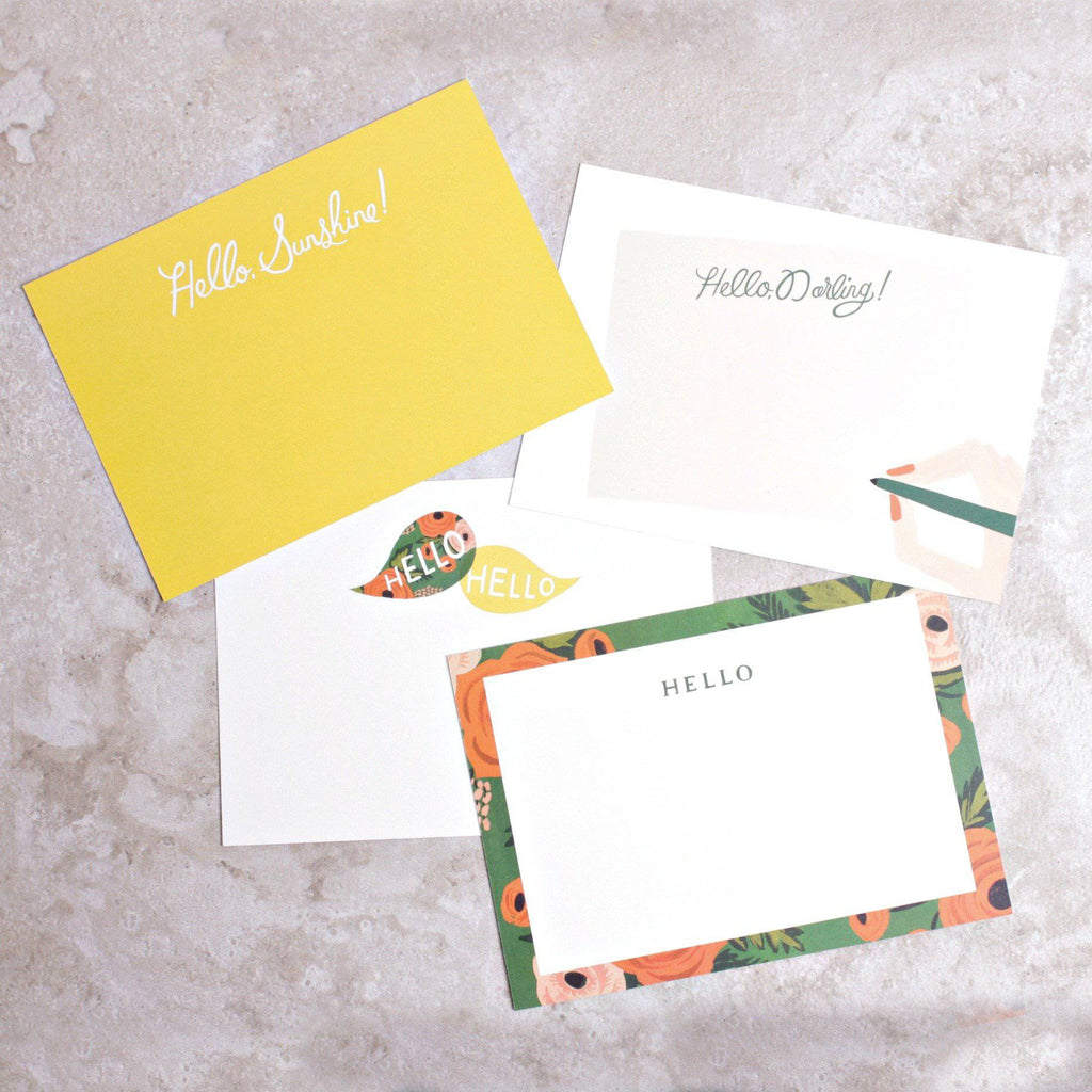 Hello Darling Social Stationary Set - Rifle Paper Co. - Coco and Duckie