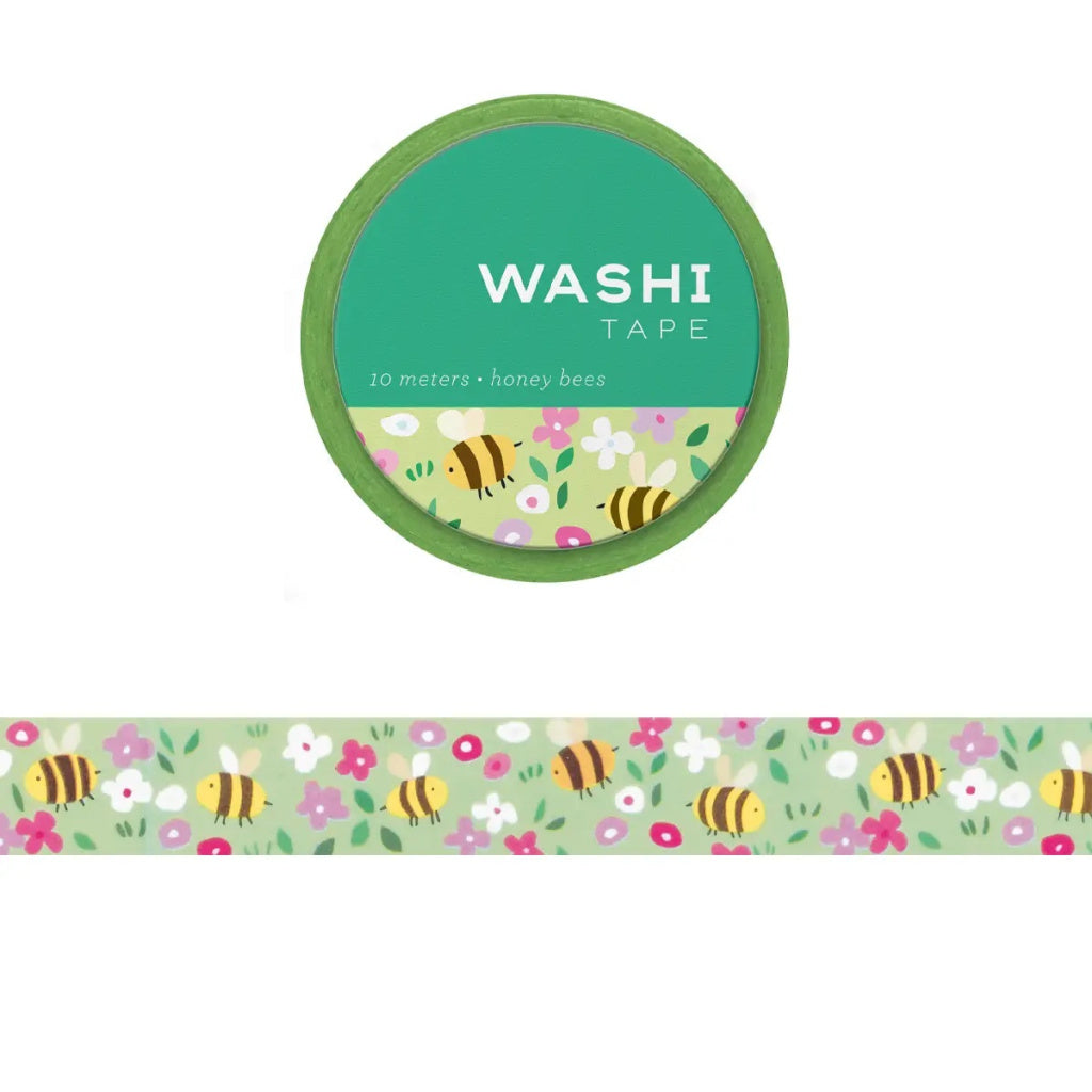 Honey Bees Washi Tape - Girl of All Work - Coco and Duckie