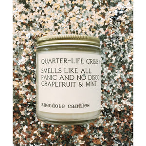 Quarter-Life Crisis Candle - Coco and Duckie