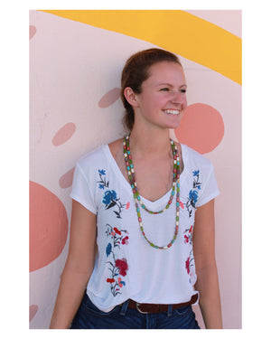 Althea Necklace | South Beach - Coco and Duckie