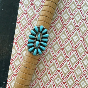 Molly Turquoise Ring - Coco and Duckie