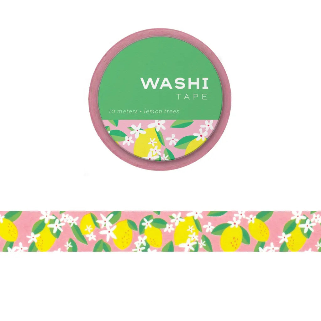 Lemon Washi Tape - Girl of All Work - Coco and Duckie