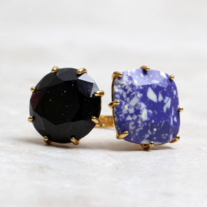 Indigo Soleil Ring - Coco and Duckie
