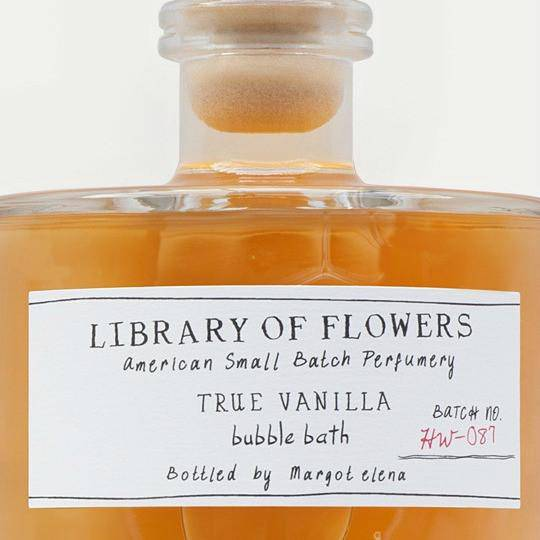 True Vanilla Bubble Bath - Library of Flowers - Coco and Duckie