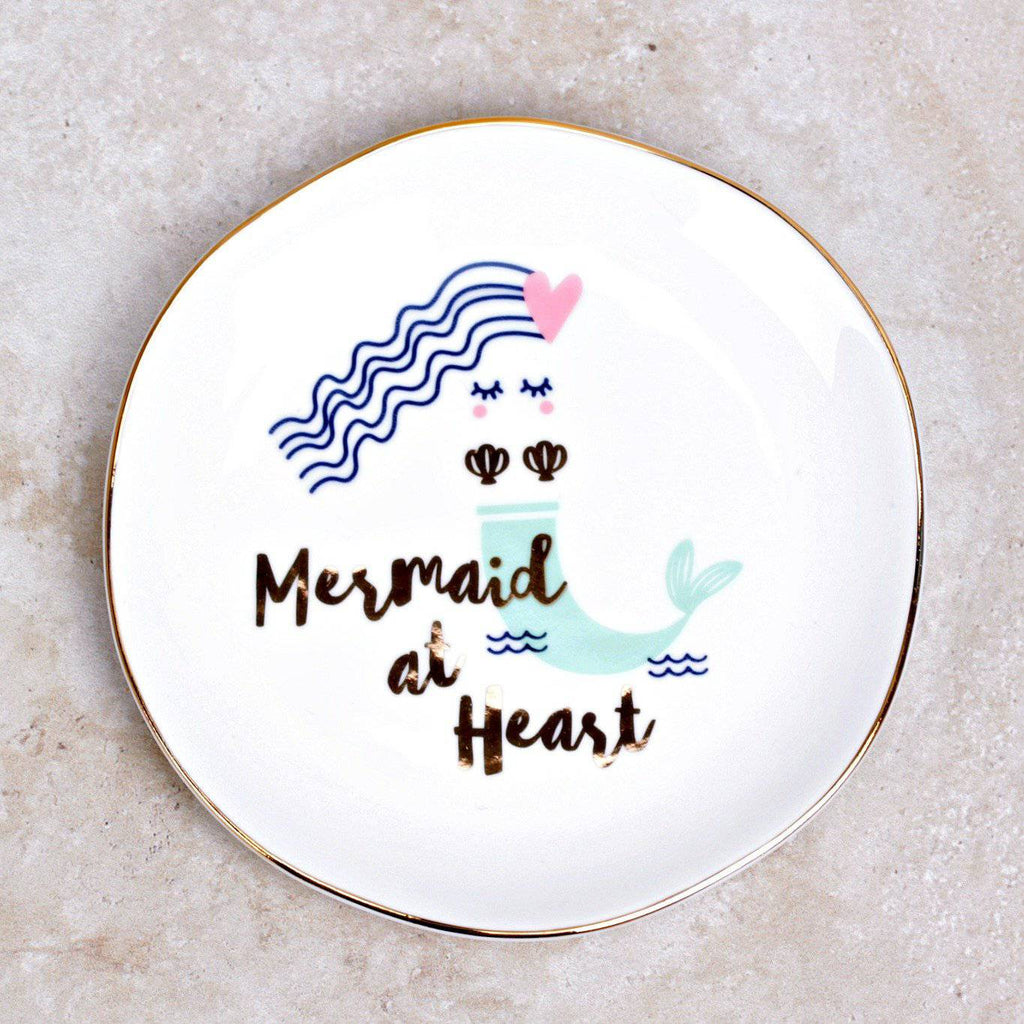 Mermaids Trinket Tray - Slant - Coco and Duckie
