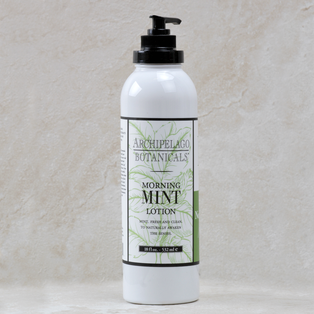 Morning Mint | Archipelago Body Lotion Pump - Coco and Duckie