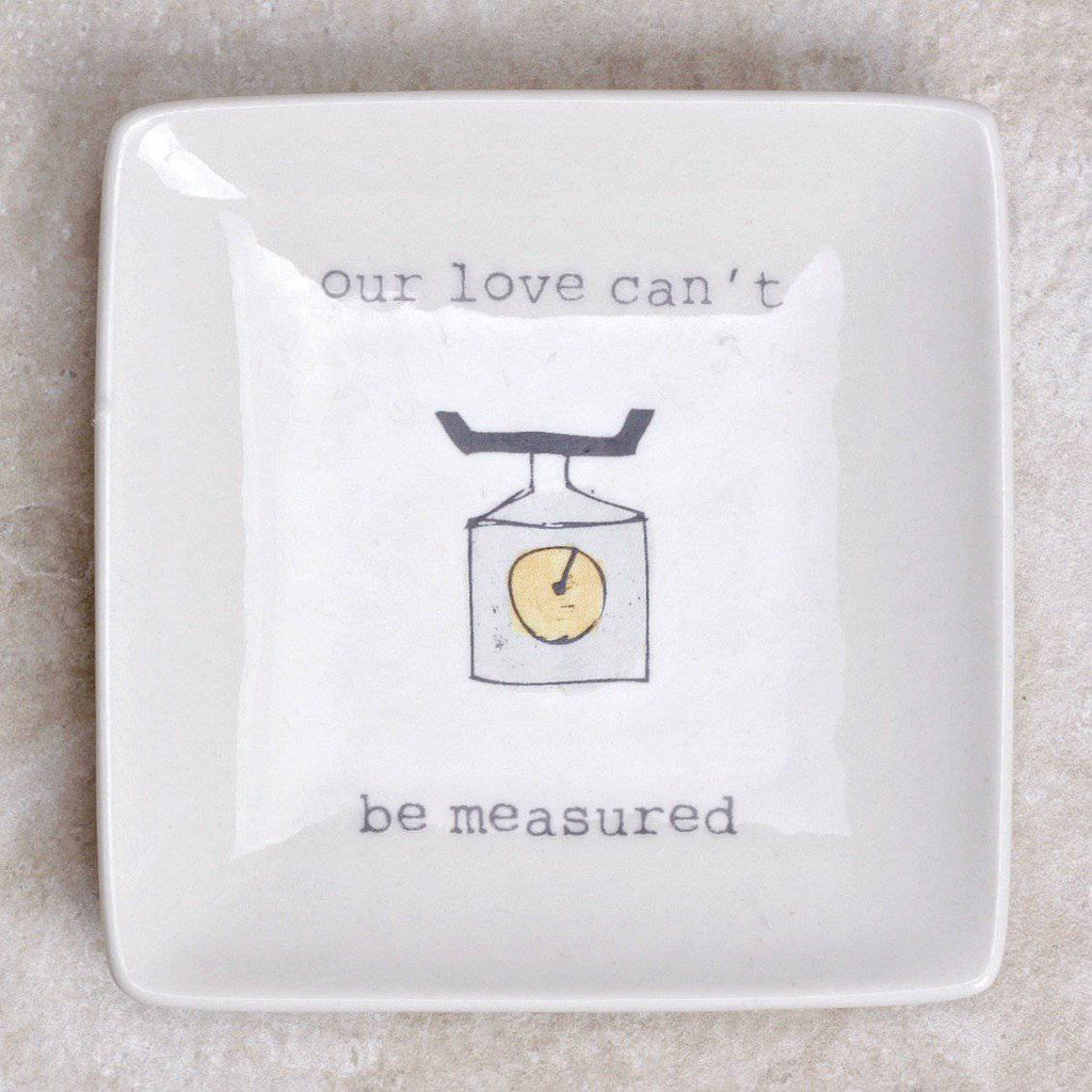 Sweet Reminder Ring Dish - Creative Co-op - Coco and Duckie