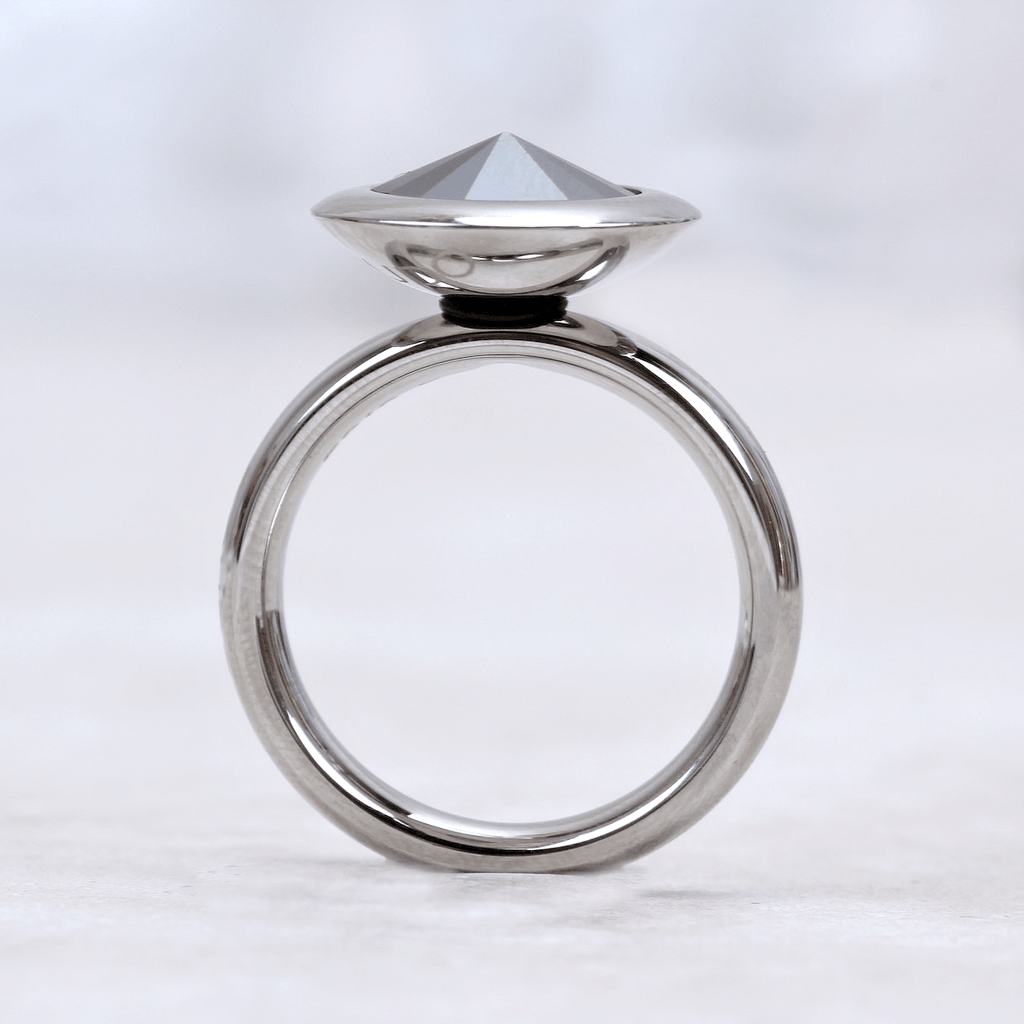 Qudo Interchangeable Basic Ring | Silver - Qudo - Coco and Duckie