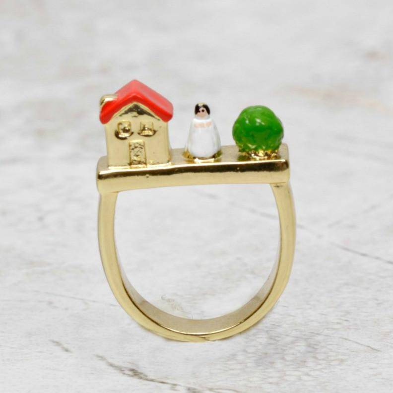 Snow White Ring - N2 - Coco and Duckie