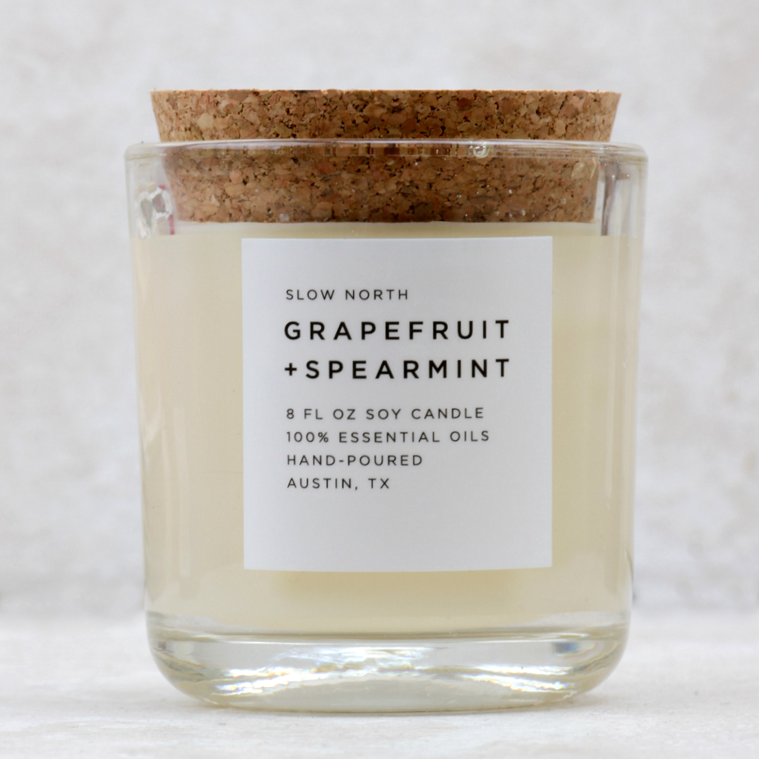 Tumbler Candle | Grapefruit + Spearmint